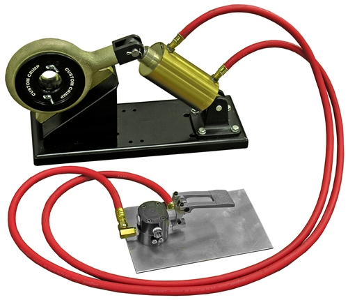 670t ferrule vise air powered hose crimper. Black Bedroom Furniture Sets. Home Design Ideas
