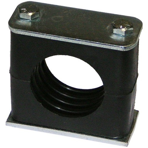 Support clamps for pipe or tubing