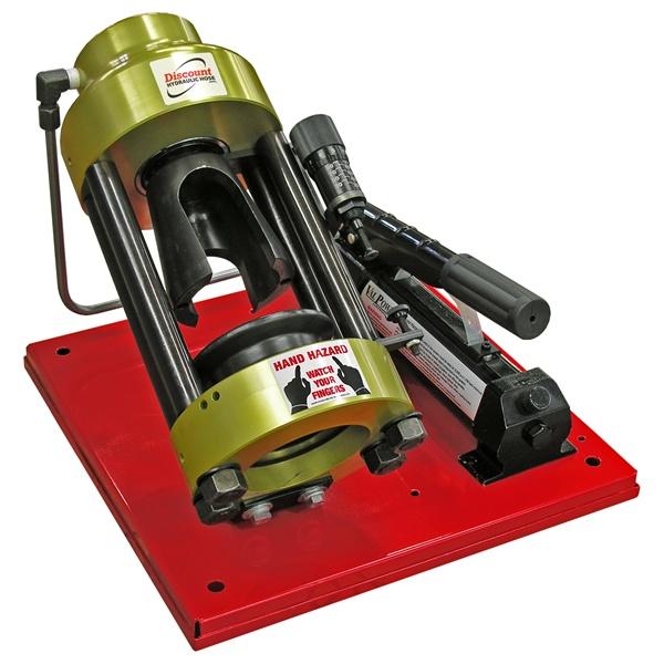 d100h manual powered portable hose crimper. Black Bedroom Furniture Sets. Home Design Ideas