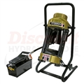 D100SP Portable Hose Crimper with Air-Powered Pump